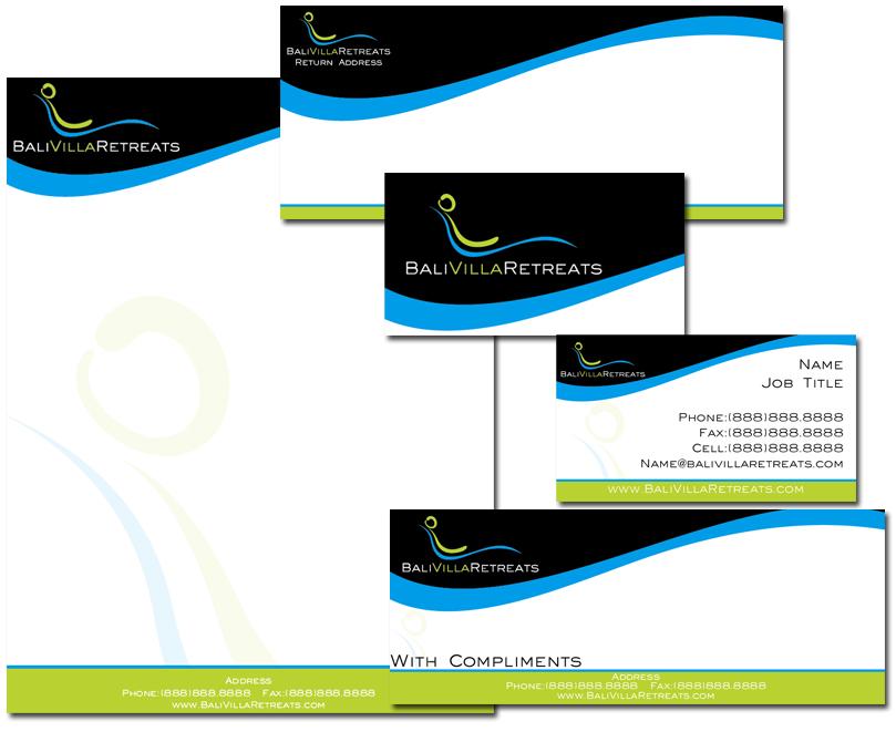 Logo Design Villa Logo Design by Oisin For Bali