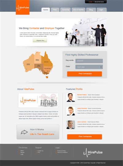 Pharmaceutical Homepage Graphic Design 109563