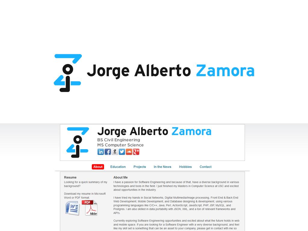 Serious, Modern, Software Logo Design for JAZ Jorge Alberto