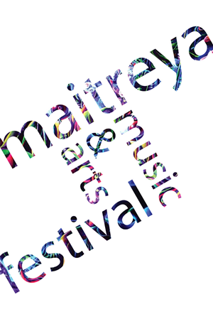 Poster Design job – Maitreya Arts and Music Festival – Winning design by Ryan Halbert