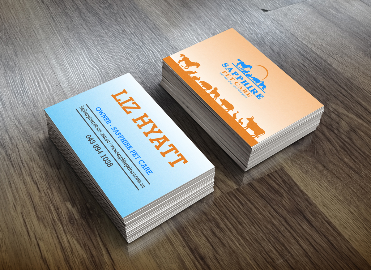 Bold, Serious, Pet Business Card Design for a Company by J Mahesh ...