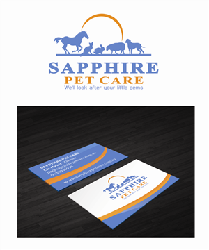 Pet sitting business card designs 8 pet sitting business cards to pet sitting business card design by dh graphic design colourmoves