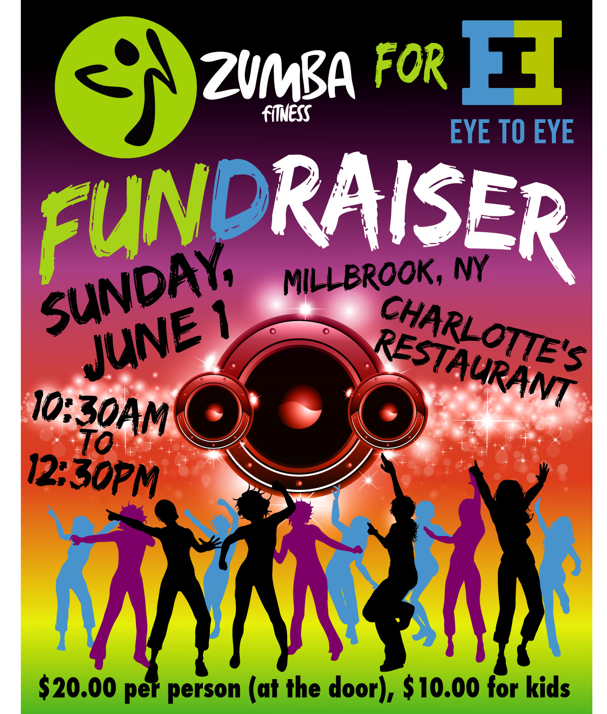 Design t shirt zumba - Flyer Design For Elizabeth O Heaney By Kingstoncarol