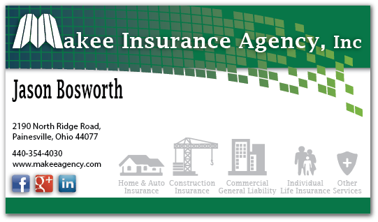 Business Business Card Design For Makee Insurance Agency Inc By