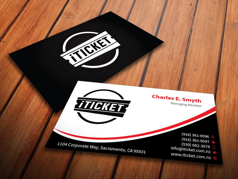 Modern, Bold Business Card Design for Reece Preston by ...
