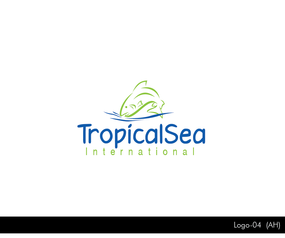 It company logo design for tropicalsea international by for International design company