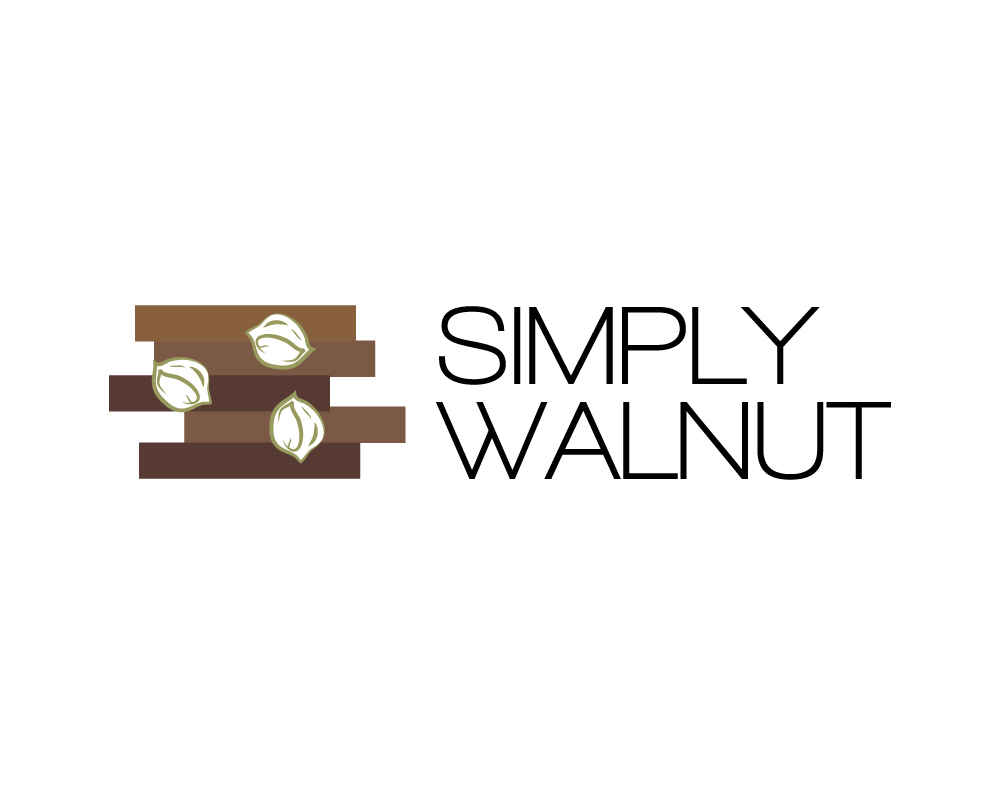 Logo Design (Design #979415) submitted to Wood Flooring Company Logo -  SIMPLY WALNUT - 74 Modern Professional Logo Designs For SIMPLY WALNUT A Business