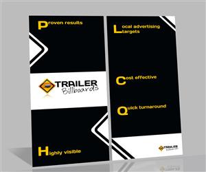 Brochure Design by senja - Trailer Advertising Business needs brochure