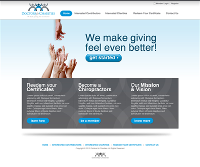 Deal Of The Day Website Design And Business Name 112591