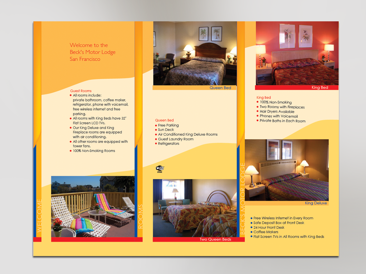 image gallery hotel brochure design