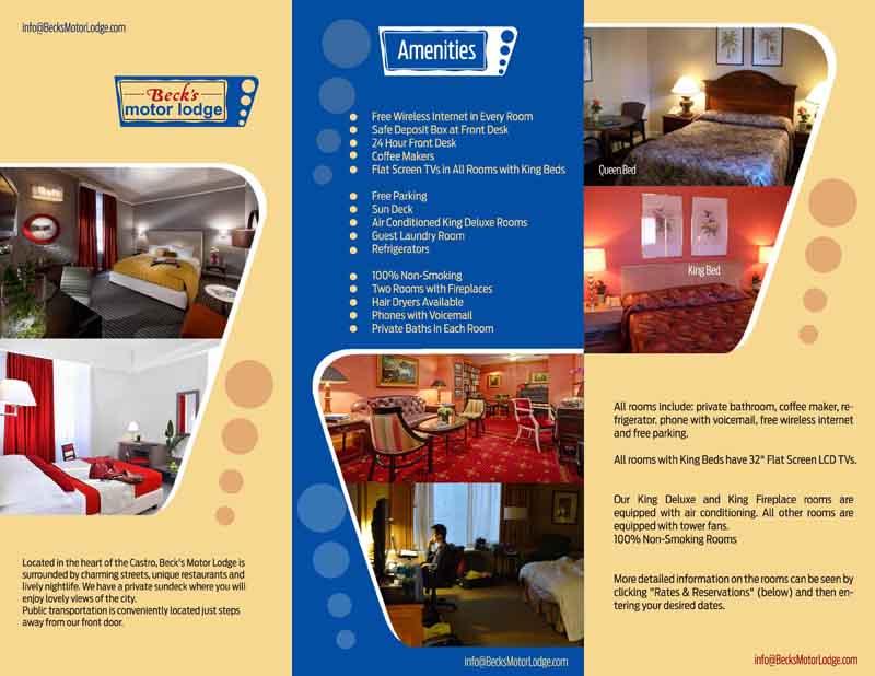 29 masculine colorful wireless internet brochure designs for Hotel brochure design