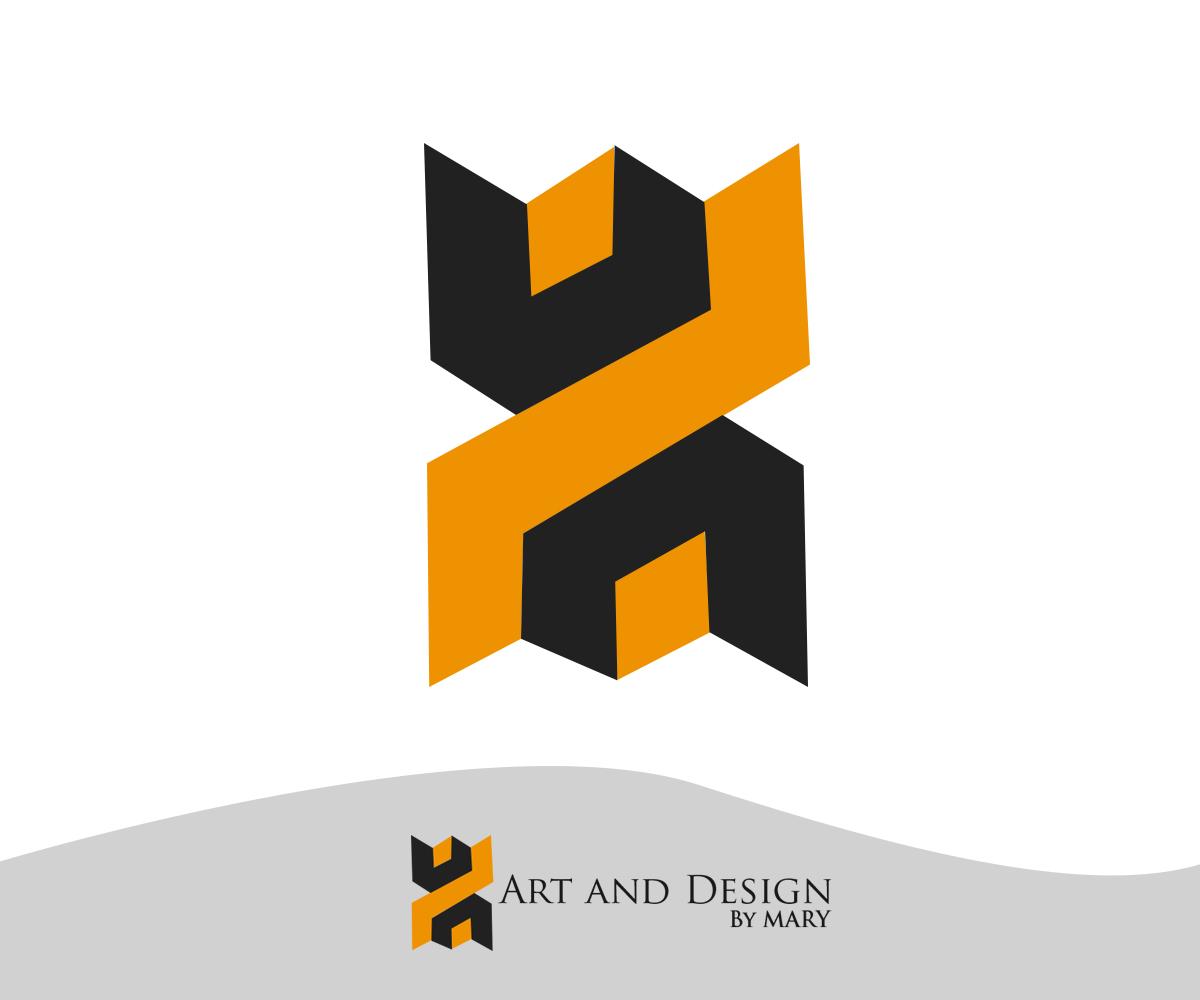Creative art logo design the image kid for Decor logo