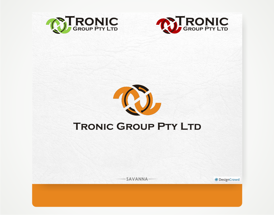 Business logo design for tronic group pty ltd by savana for Outer space design group pty ltd