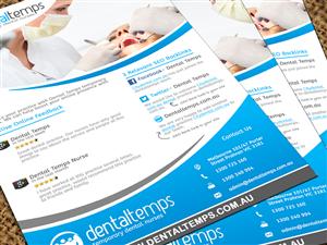 Brochure Design by SumanJung - Brochure for Dental Recruitment Agency