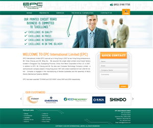 Web Design by webwinner - Printed Circuit Board Company Web Site Design -...