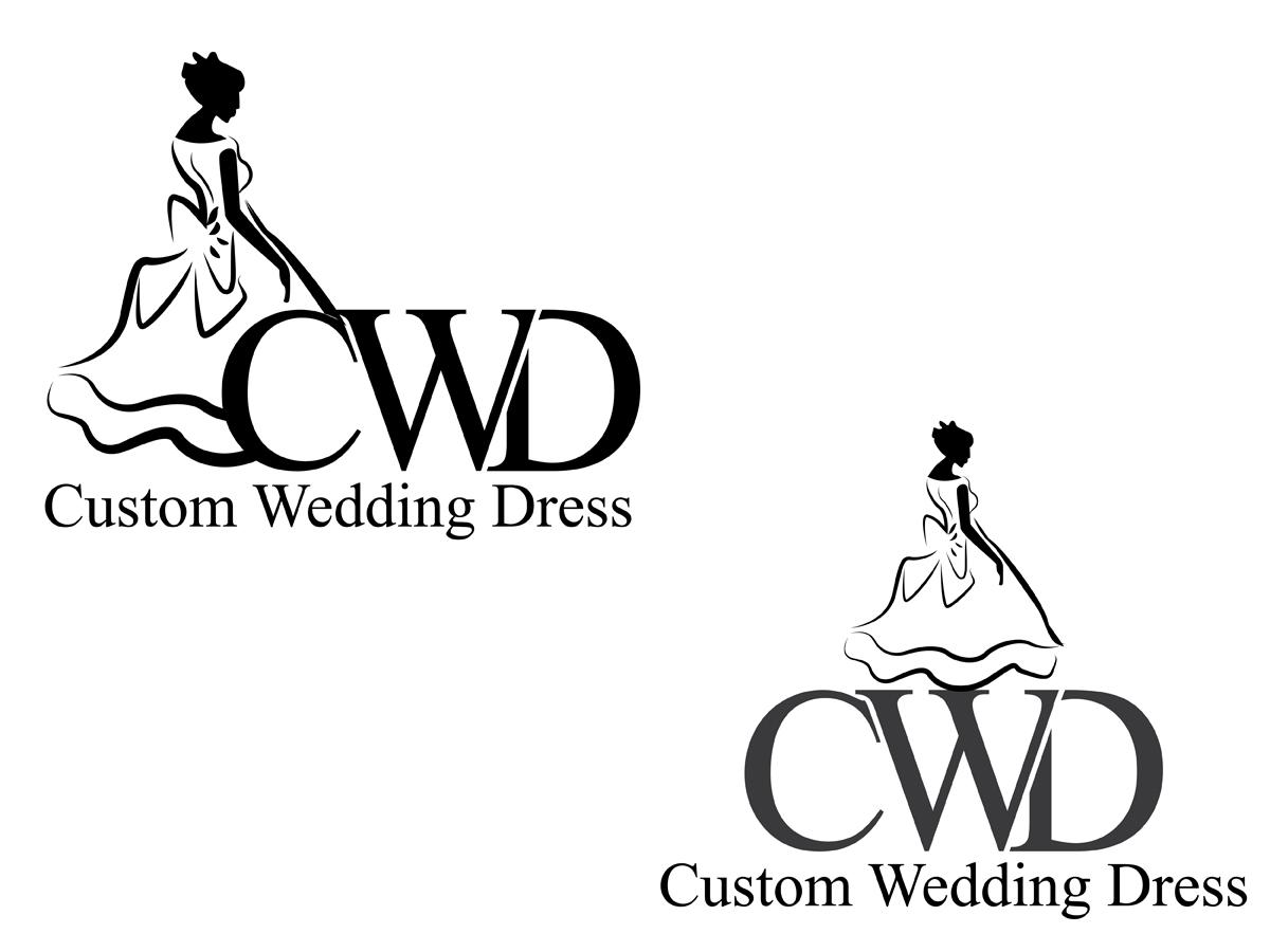 Logo Design For Custom Wedding Dress By Coco 3752584