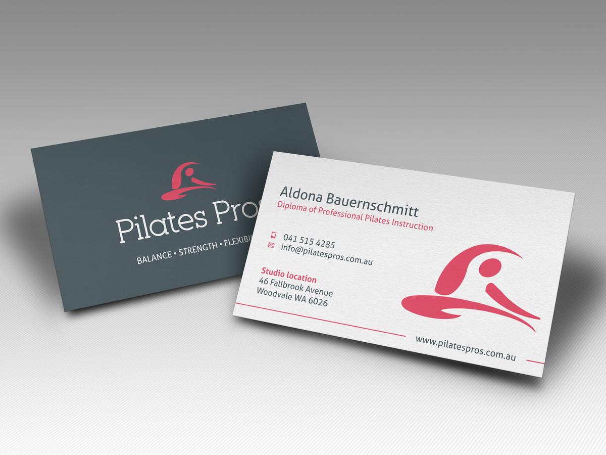 Design De Carte Visite Business Pour Pilates Pros En Aux Australia
