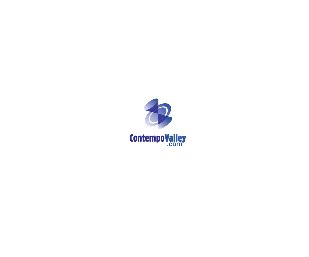 It Company Logo Design for ContempoValley com Contemporary