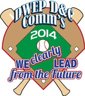 Graphic Design by tgrogg - Baseball Themed Logo for Communications Meeiting