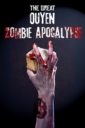 Poster Design by Robert R. - The Great Ouyen Zombie Apocolypse