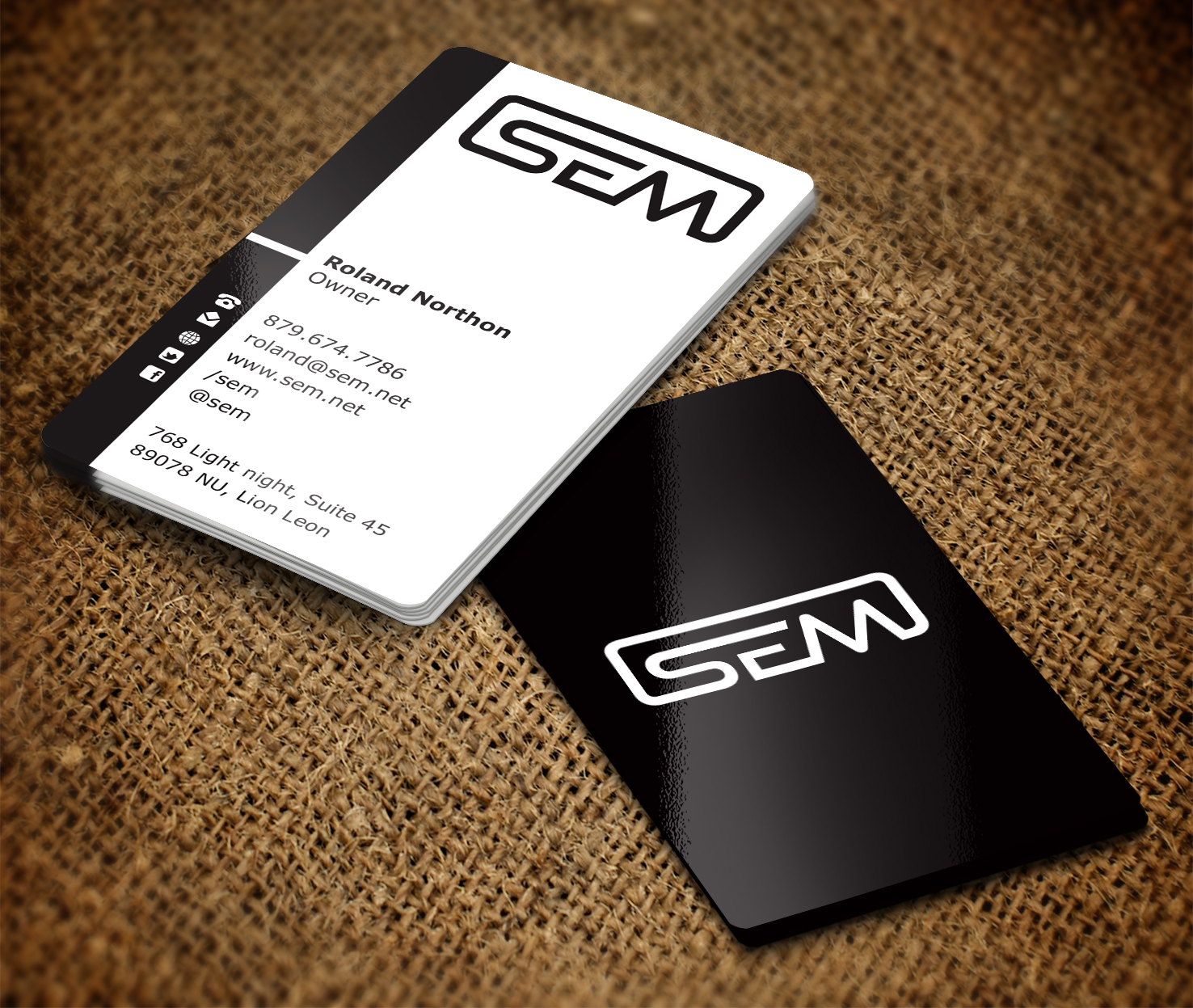 Professional, Upmarket, Business Business Card Design for a Company ...