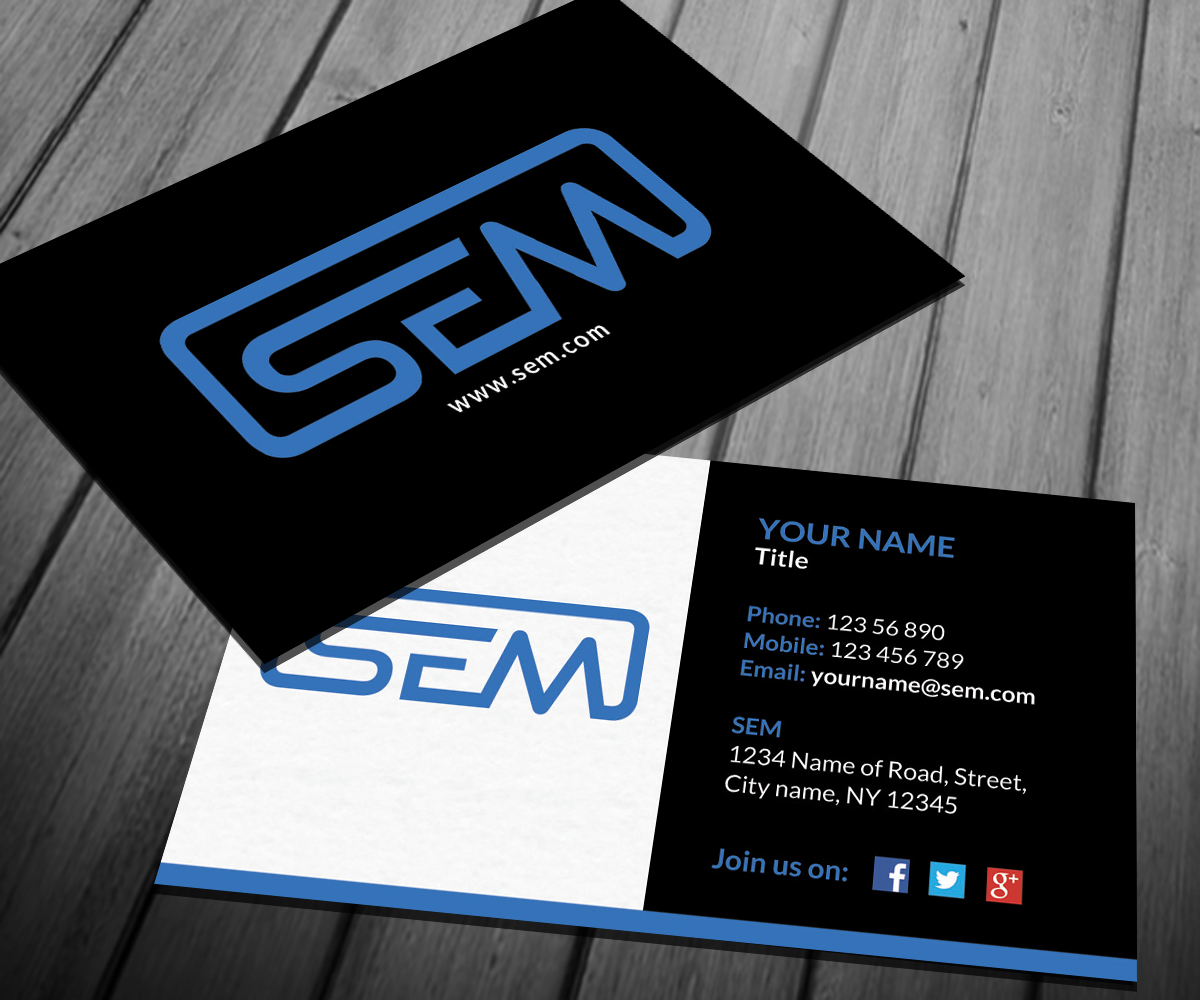 Professional, Upmarket Business Card Design for Maie ...