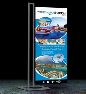 Graphic Design by JLG Studios - Design for Trade Show Pull-up