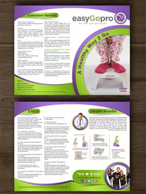 Brochure Design by ESolz Technologies - easyGoPro Customer Brochure