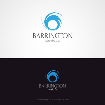 Logo Design For Barrington Laundry Co By Madeli