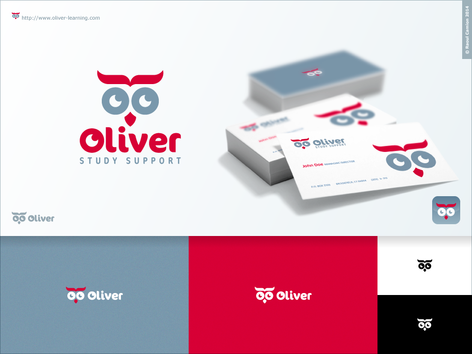 Oliver Study Support Logo by Raoul Camion