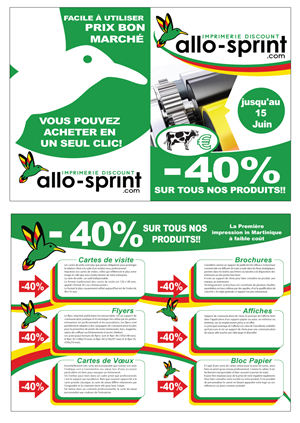 Modern Professional Printing Flyer Design For Groupe Aci By Maden
