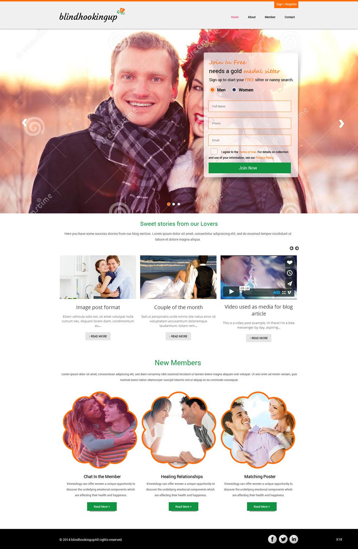 Emotionale Dating-Website