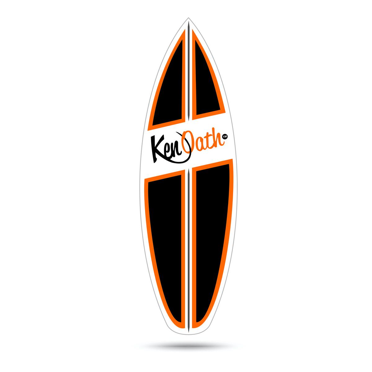 Retro/Vintage/ Surf Logo Decal for existing T-Shirt Logo ...