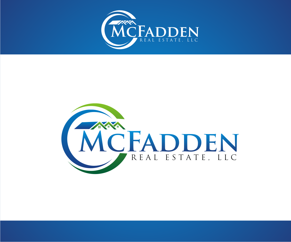 Real estate logo design for mcfadden real estate llc by r for D for design