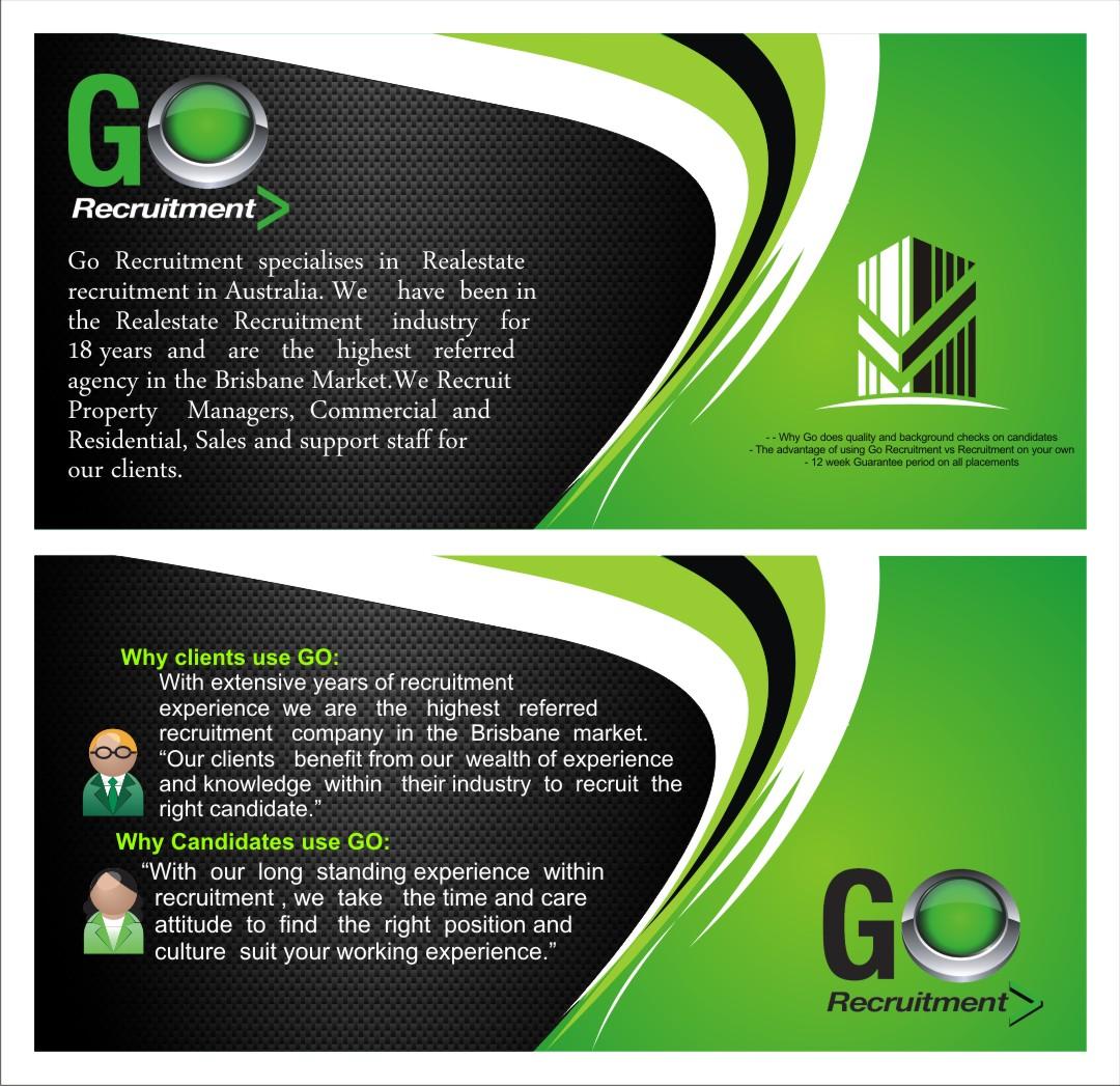 go recruitment dl flyer