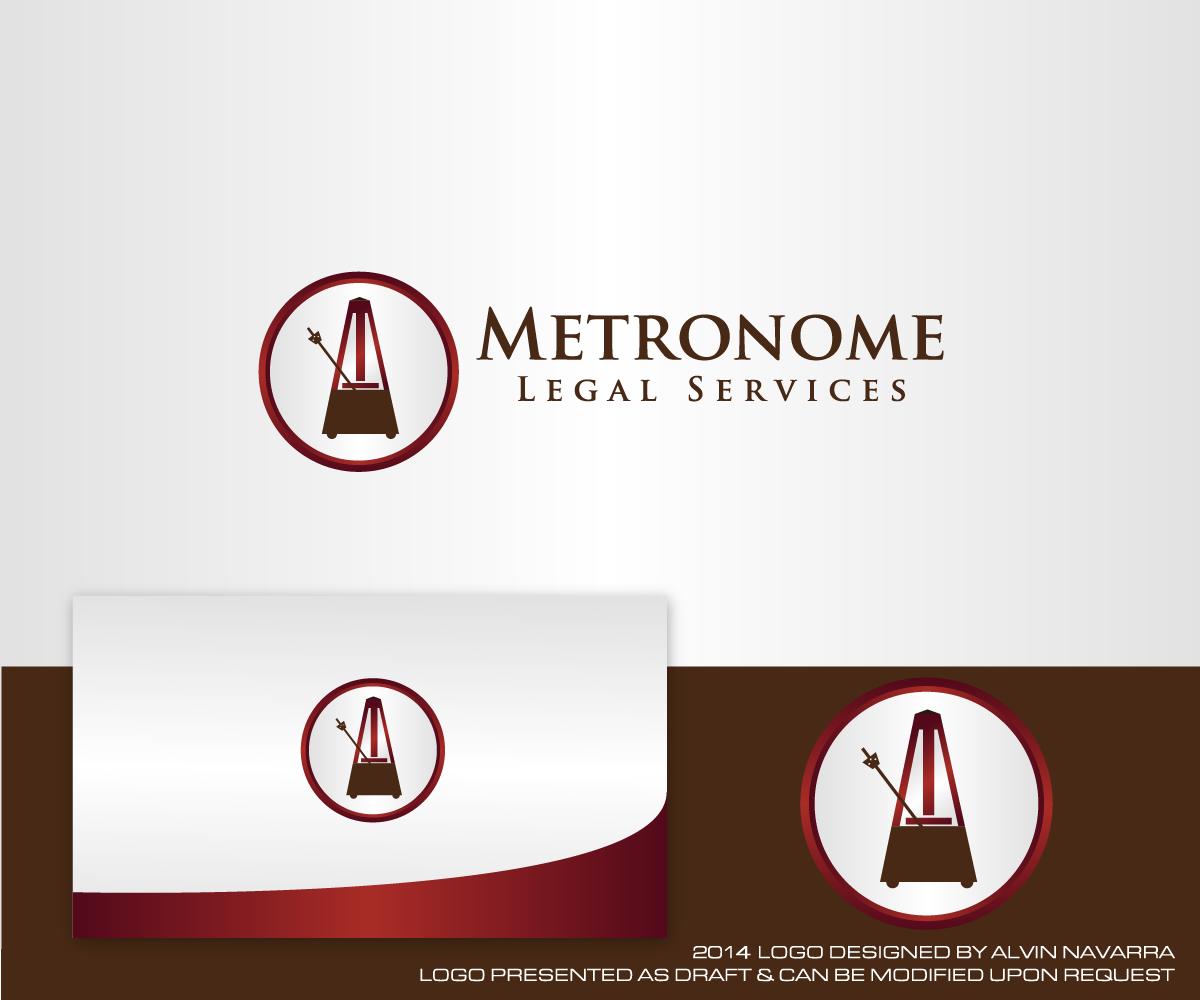 Serious, Modern, Legal Logo Design For Metronome Legal