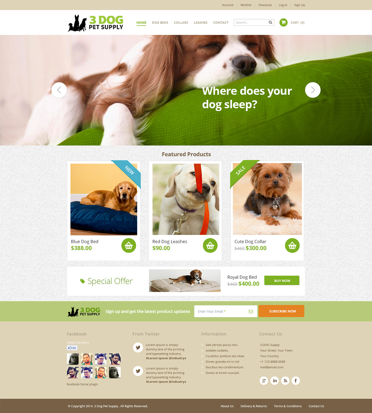 Pet Web Design For Pagetree In United States 3880924