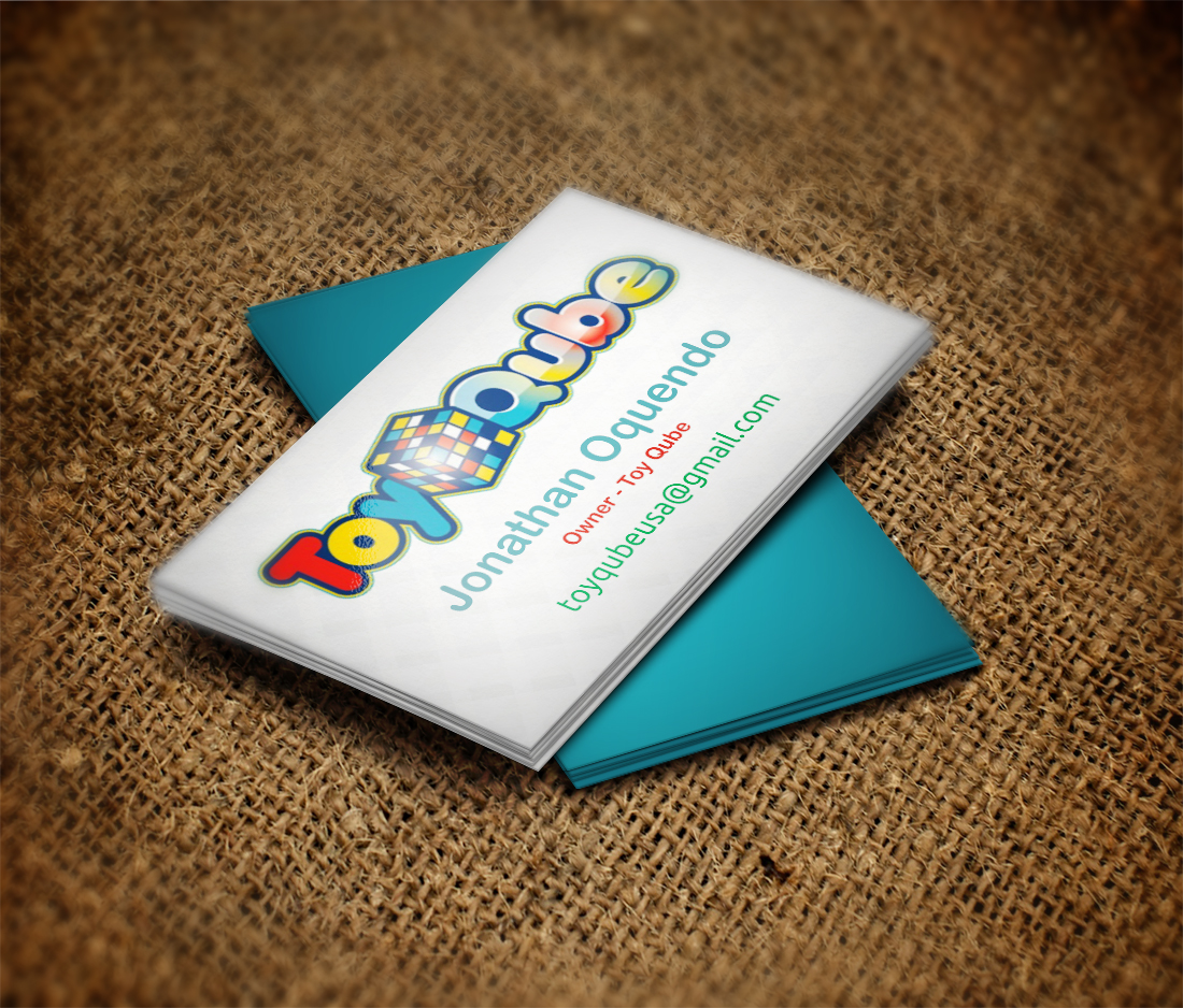 Toy store business cards images card design and card template business card design for toy qube by indianashok design 3718108 business card design by indianashok for magicingreecefo Choice Image