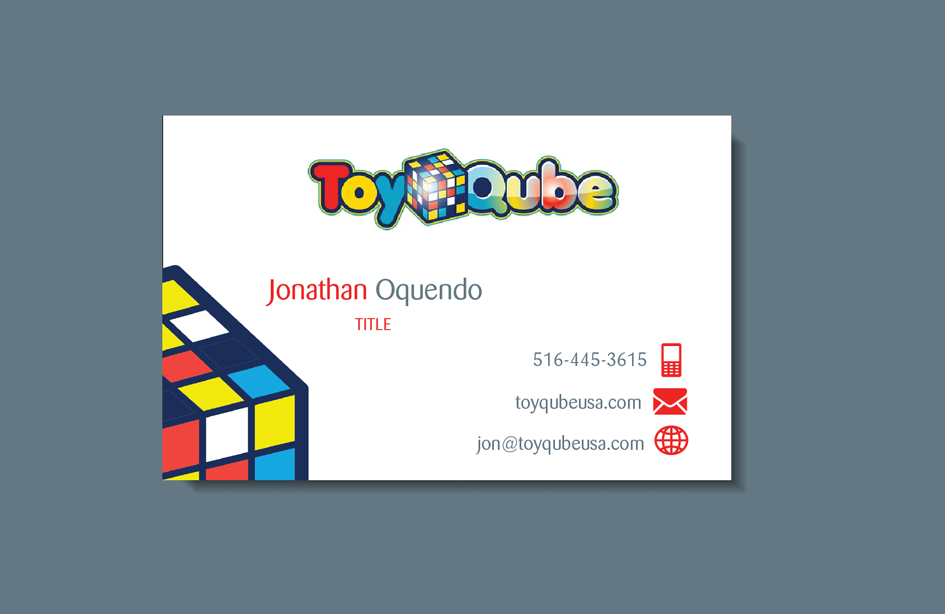 Design De Carte Visite Business Pour Toy Qube En Aux United States