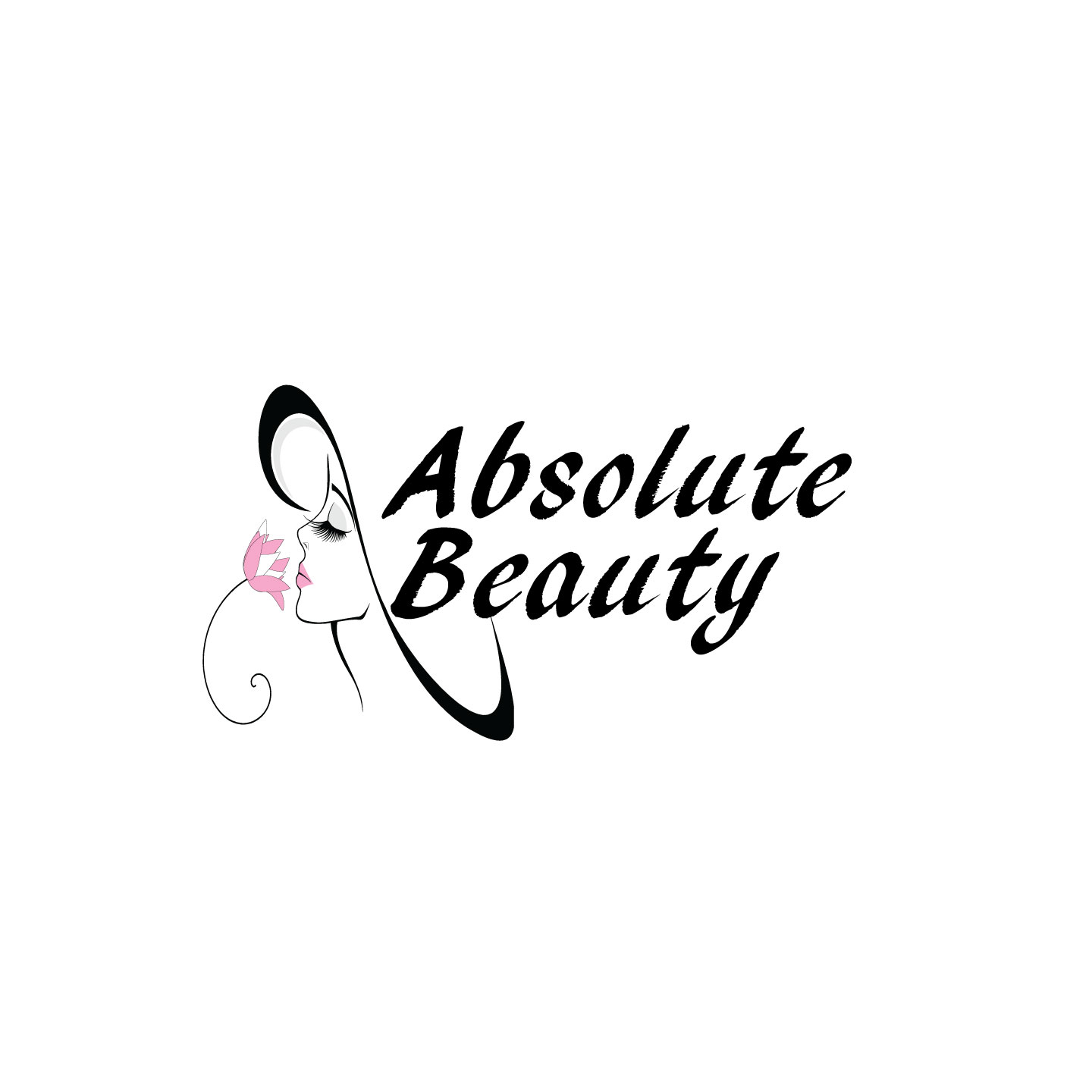 Modern professional logo design for absolute beauty by for Absolute beauty salon