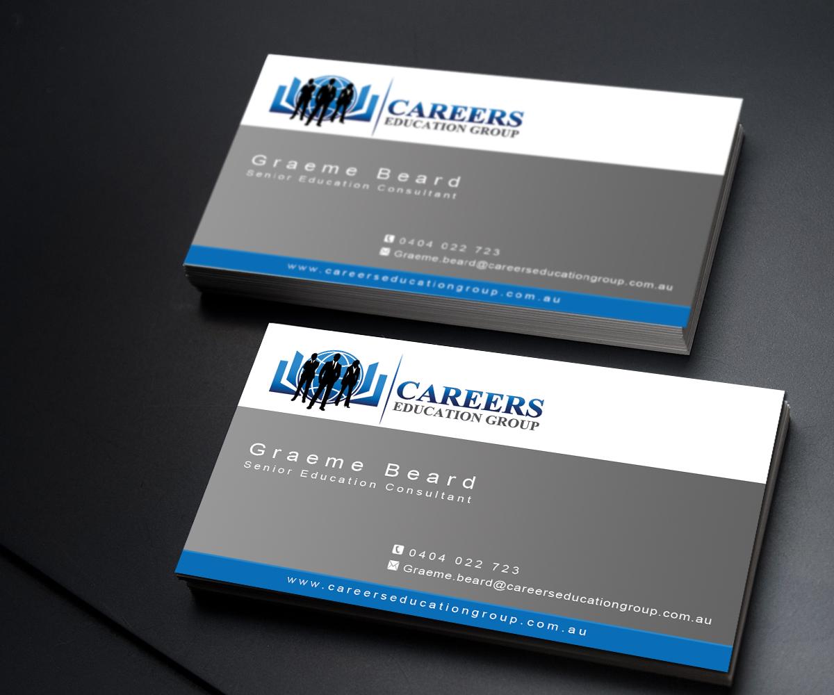 Modern, Upmarket Business Card Design for Careers Education Group ...