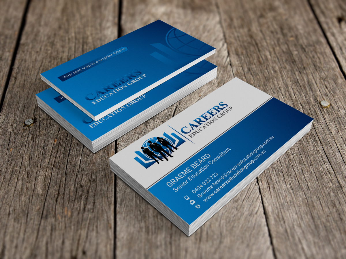 158 Modern Business Card Designs | Education Business Card Design ...
