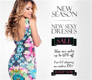 Banner Ad Design by gilles_v - SexyDresses.com Banner AD