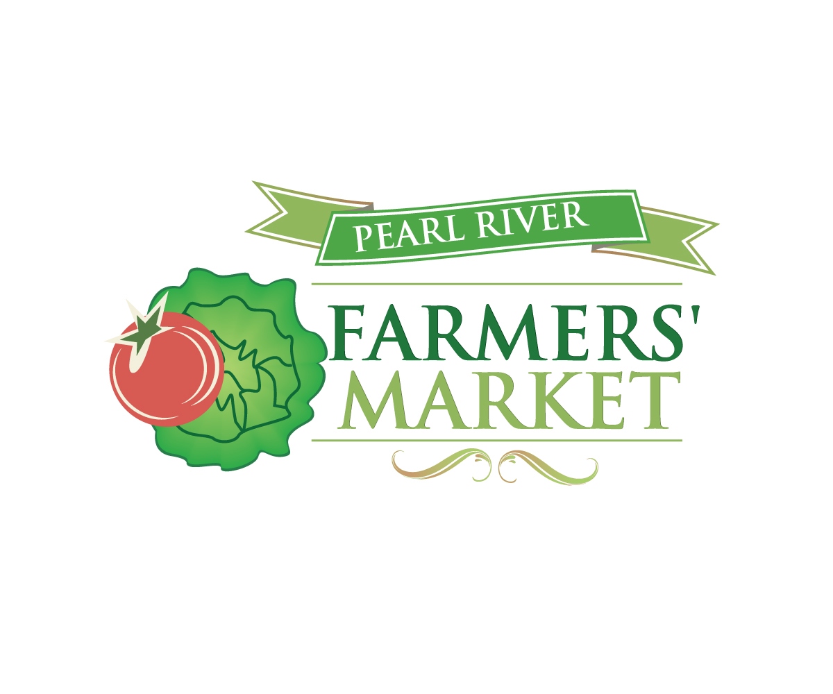 Town Logo Design for Pearl River Farmers' Market by anuta