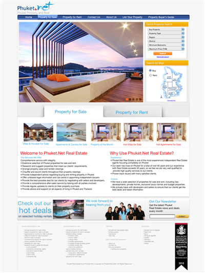 Budget International Website Design 128475