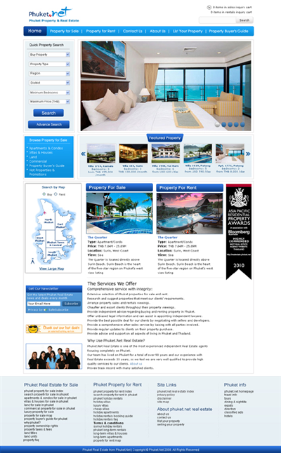 House Web Design Tender 127497