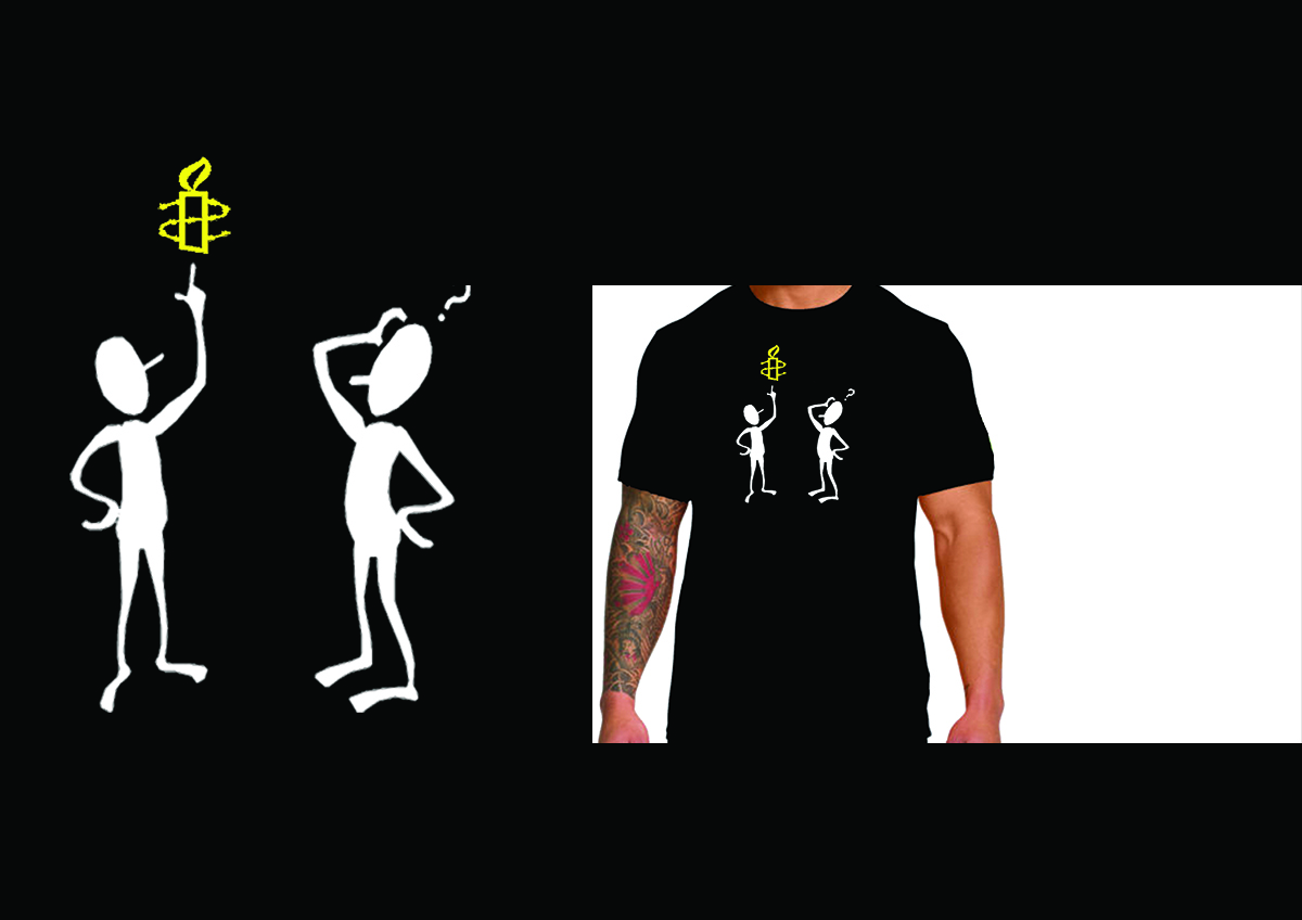 Shirt design australia - T Shirt Design By Sssujeeva For Amnesty International Australia T Shirt Design Competition