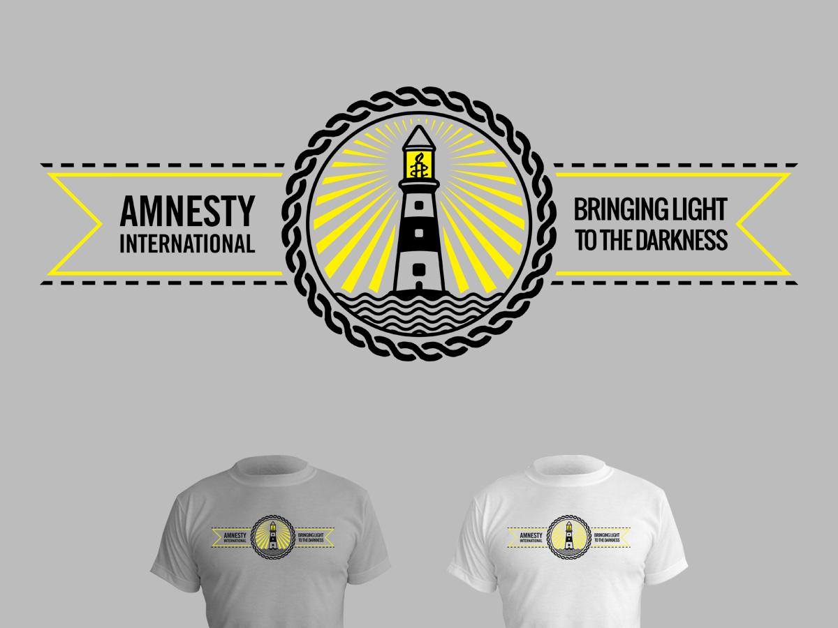 Shirt design australia - T Shirt Design By Stierney For Amnesty International Australia T Shirt Design Competition