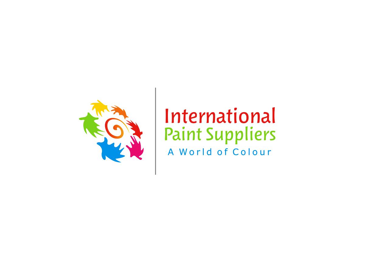 It company logo design for international paint suppliers for International design company