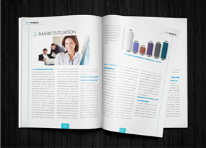 Magazine Design by hema dhawan - Layout & infographics for 36p Business Plan